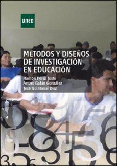 metodos y diseño de investigacion en educacion-ramon perez juste-9788436262667
