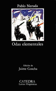 odas elementales (4ª ed.)-pablo neruda-9788437603667