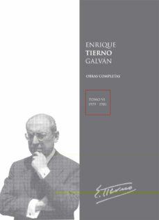Valentifaineros20015.es Enrique Tierno Galvan Obras Completas: Tomo Vi-19 Image