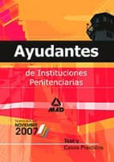 Padella.mx Ayudantes De Instituciones Penitenciarias: Test Y Casos Practicos Image