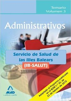 Mrnice.mx Administrativos Del Ib-salut. Temario Volumen 3. Image