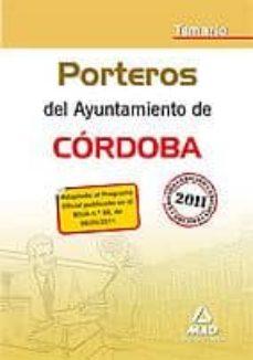 Elmonolitodigital.es Porteros Del Ayuntamiento De Cordoba. Temario Image