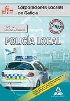Lofficielhommes.es Policias Locales De Galicia. Test Del Temario General. Image