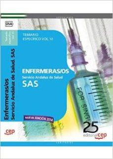 Encuentroelemadrid.es Enfermeras/os Servicio Andaluz De Salud (Sas): Temario Especifico Vol. Vi. Image