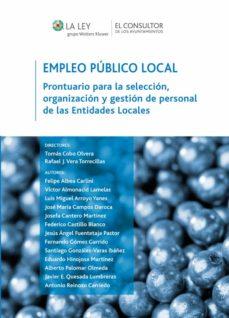 empleo público local (ebook)-tomas cobo olvera-9788470526367