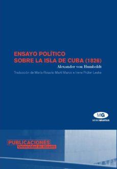 ensayo politico sobre la isla de cuba (1826)-alexander von humboldt-9788479087067
