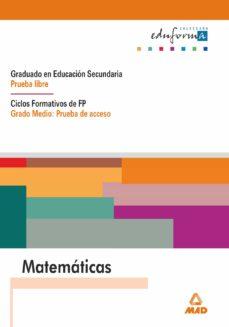 matematicas prueba de acceso. grado medio.-9788483113967