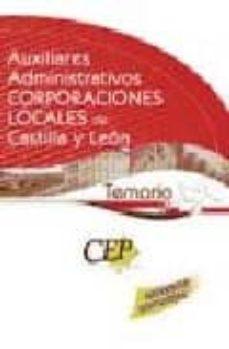 Sopraesottoicolliberici.it Temario Oposiciones Auxiliares Administrativos Corporaciones Loca Les De Castilla Y Leon Image