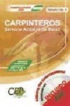 Upgrade6a.es Temario Vol. Ii. Oposiciones Carpinteros Servicio Andaluz De La Salud. (Sas) Image