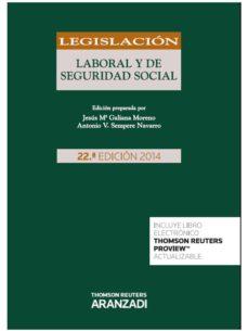 Geekmag.es Legislacion Laboral Y De Seguridad Social (22ª Ed.) Image