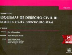 Iguanabus.es Esquemas De Derecho Civil Iii (2ª Ed.): Derechos Reales, Derecho Registral Image