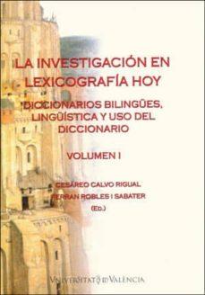 Relaismarechiaro.it La Investigación En Lexicografía Hoy (Volumen I) Image