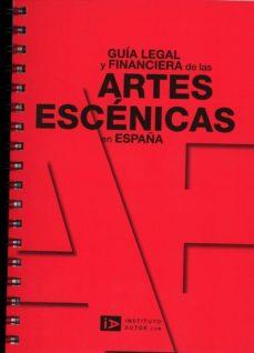 guia legal y financiacion de las artes escenicas en españa-9788493608767