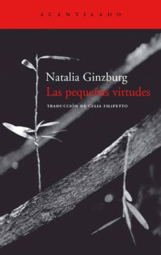 las pequeñas virtudes-natalia ginzburg-9788495359667