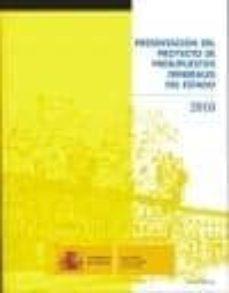 Inmaswan.es Presentacion Del Proyecto De Presupuestos Generales Del Estado, 2 010 (Incluye Cd-r) Image