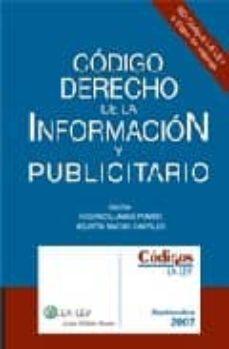 Geekmag.es Codigo De Derecho De La Informacion Y Publicitario 2007 Image
