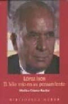 Descargar libros gratis en iPod Touch LOPEZ IBOR : EL HILO ROJO EN SU PENSAMIENTO de MARINO GOMEZ-SANTOS 9788497426367 MOBI CHM (Literatura española)