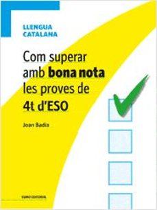 Vinisenzatrucco.it Com Superar Amb Bona Nota Les Proves De 4t D Eso: Llengua Catalan A Image