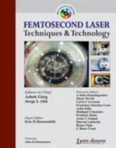 Descargar inglés ebook pdf FEMTOSECOND LASER TECHNIQUES AND TECHNOLOGY in Spanish  9789350258767