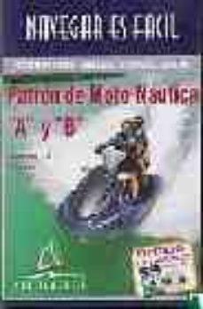 Inmaswan.es Patron De Moto Acuatica A Y B: Curso Multimedia (Navegar Es Facil ) (Incluye 1 Cd Y 1 Libro En Formato Pdf) Image