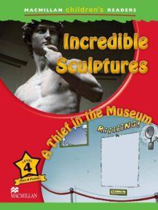 macmillan chindren´s readers 4 incredible sculptures/thief...-9780230404977
