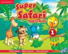super safari 1 pupil s book with dvd-rom-9781107476677