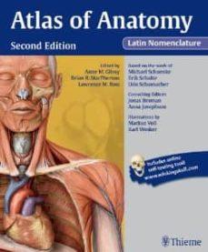 Audiolibros gratis para descargar gratis ATLAS OF ANATOMY (2ND ED.) 9781604067477