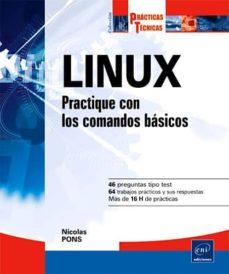linux: practique con los comandos basicos-nicolas pons-9782746053977