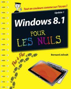 windows 8.1 update 1 pas à pas pour les nuls (ebook)-bernard jolivalt-9782754069977