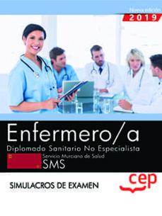 Mrnice.mx Enfermero/a. Diplomado Sanitario No Especialista. Servicio Murciano De Salud. Sms. Simulacros De Examen Image