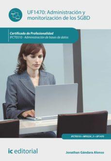 administración y monitorización de los sgbd. ifct0310 (ebook)-9788416433377