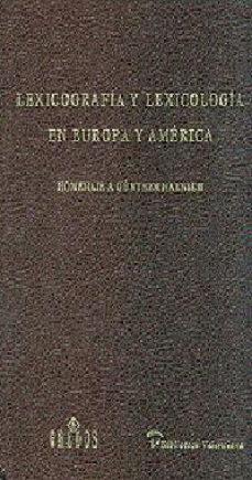 Canapacampana.it Lexicografia Y Lexicologia En Europa Y America (Homenaje A Günthe R Haensch) Image