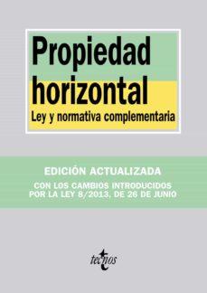 Garumclubgourmet.es Propiedad Horizontal: Ley Y Normativa Complementaria Image