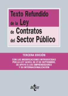 texto refundido de la ley de contratos del sector público (ebook)-9788430961177
