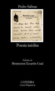 poesia inedita-pedro salinas-9788437630977