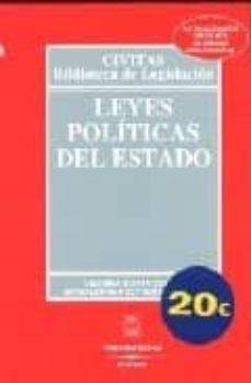 Geekmag.es Leyes Politicas Del Estado (25ª Ed.) Image