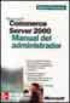 Upgrade6a.es Microsoft Commerce Server 2000: Manual Del Administrador Image