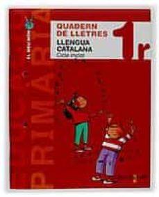 Carreracentenariometro.es Projecte El Meu Mon Llengua Catalana 1 Primaria 1 Cicle Quadern De Lletres Image