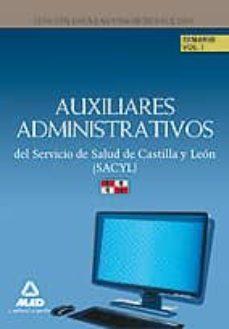 Iguanabus.es Auxiliares Administrativos Del Servicio De Salud De Castilla Y Leon. Temario.volumen I.personal Estatutario Image