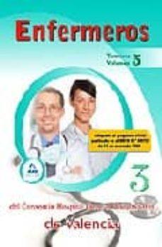 Encuentroelemadrid.es Enfermeros Del Consorcio Hospital General Universitario De Valenc Ia. Temario. Volumen Iii Image