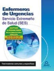 Inmaswan.es Enfermeros De Urgencias Del Servicio Extremeño De Salud (Ses). Te St De Materias Comunes Y Especificas. Image