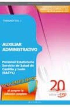 Costosdelaimpunidad.mx Auxiliar Administrativo Personal Estatutario Servicio De Salud De Castilla Y Leon (Sacyl). Temario Vol. I. Image