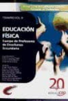 Padella.mx Cuerpo De Profesores De Enseñanza Secundaria. Educacion Fisica. T Emario Vol. Ii. Image