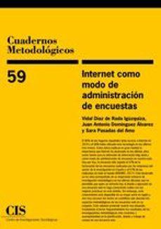 Libro para descargar en línea INTERNET COMO MODO DE ADMINISTRACION DE ENCUESTAS