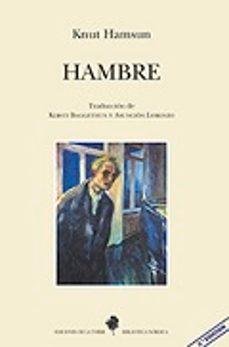 Descargar libros electrónicos gratis para iPad 2 HAMBRE (3ª ED.) de KNUT HAMSUN (Literatura española)