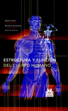 estructura y funcion del cuerpo humano-adolf faller-9788480198677