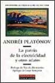Valentifaineros20015.es La Patria De La Electricidad Y Otros Relatos Image