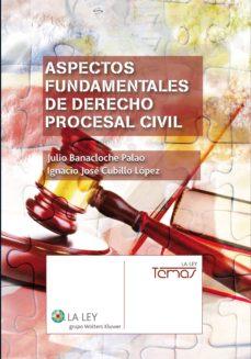aspectos fundamentales de derecho procesal civil (ebook)-julio banacloche palao-ignacio jose cubillo lopez-9788490201077