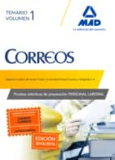 Inmaswan.es Personal Laboral De Correos Y Telegrafos: Temario Volumen Image
