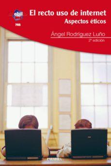 Descargar EL RECTO USO DE INTERNET: ASPECTOS ETICOS gratis pdf - leer online
